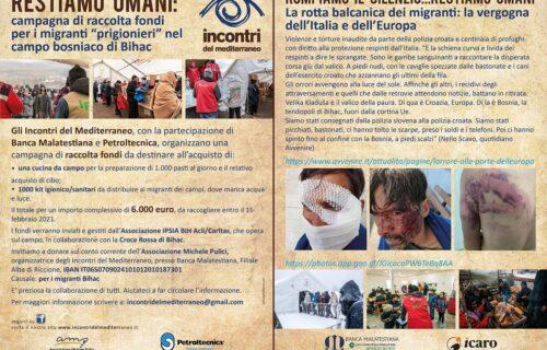 Cartolina Raccolta Fondi Bosnia_Febbraio 2021
